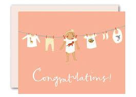 Newborn Congratulation Card Congratulations Baby Girl Card A New Baby Card By Pencil Joy