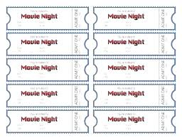 Create Tickets In Word Numbered Tickets Template Free