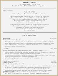 Midwife Resume Sample Medical Field Resume Samples Examples Objective For Resume