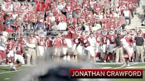 DB Jonathan Crawford - All-Big Ten - YouTube