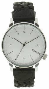 Наручные <b>часы KOMONO Winston</b> Woven Black — купить по ...