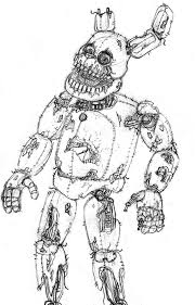 Golden Freddy Kleurplaat Fnaf Coloring Pages Bonnie Practical