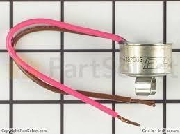 whirlpool wp4387503 bimetal defrost thermostat partselect 11742474 1 s whirlpool wp4387503 bimetal defrost thermostat