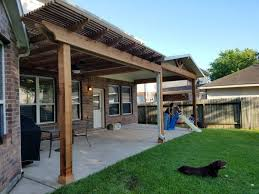 conroe backyard patio
