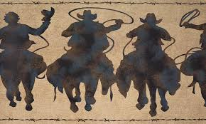 western cowboy wallpaper posted by