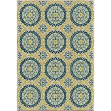 orian rugs twirling medallions multi 5 ft x 8 ft indoor outdoor area
