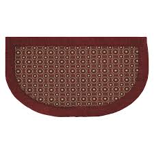 mohawk home concentric dots memory foam kitchen slice rug x 3 ft at hayneedle berber kitchen