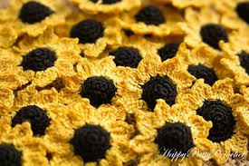 Crochet Sunflower Pattern Enchanting Ravelry Mini Sunflower Pattern By Happy Patty Crochet
