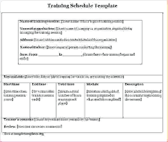 Sample Training Agenda New Sample Training Plan Template Supergraficaco