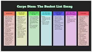 carpe diem essay pride o riley structure uncategorized bucket list essaycarpe diem