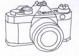 Small Picture camera coloring pages