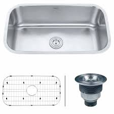 undermount kitchen sinks inch gauge stainless steel kitchen sink single bowl undermount porcelain kitchen sinks white