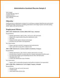 Executive Assistant Resume 100 Executive Assistant Resume Objective Precis Format 81