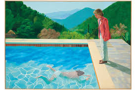 auction track david hockney pool painting auction record hypebeast