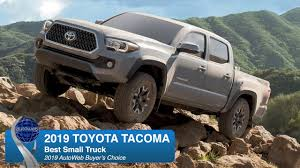 Best Small Truck: 2019 Toyota Tacoma - AutoWeb Buyer's Choice Award ...
