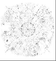 Small Picture Detailed Mandala Coloring Pages Mandalas Print
