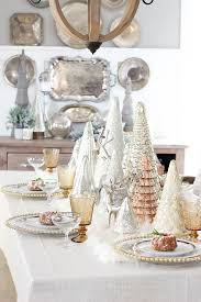 Gorgeous Mixed Metal Holiday Tablescape