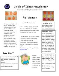 october newsletter ideas october newsletter by circle of ideas issuu