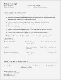 Security Resume Objective Examples Shipping And Receiving Resume Objective Examples Beautiful Security