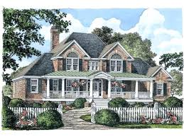 2 story brick house plans farmhouse house plan southern charm square feet and 4 bedrooms from house plan code home interior layout design app