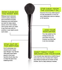 how to clean makeup brushes with coconut oil. you\u0027re making these mistakes when cleaning your makeup brushes: okay, well we can\u0027t learn what to do unless know not do, right? no more tsk, how clean brushes with coconut oil