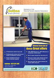 carpet cleaning flyer 36 modern feminine flyer designs for a business in united kingdom