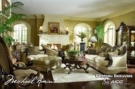 Chateau Beauvais AICO Sofa Collection