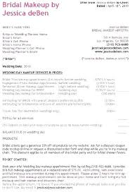bridal hair contract wedding and makeup best of consultation form free template client card salon sle