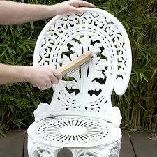 re iron or steel garden furniture