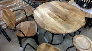 Esstisch Küchentisch Esszimmer Tisch Massiv Holz Design Rund ø 90 Cm