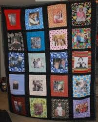 Have you ever made a photo quilt? What a heartwarming and fun idea ... & Picture quilt of family Adamdwight.com