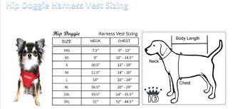 Neoprene Dog Vest Size Chart Harness Vest Sizing Chart Pet Clothes Black Mesh Vest