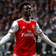 Arsenal's Bukayo Saka pays tribute to 'legend' Ljungberg after stealing  show | Arsenal