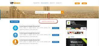 Updown File Sharing Uploader Youtube Downloader Blogging