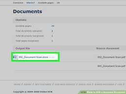 How To Edit A Scanned Document With Pictures Wikihow