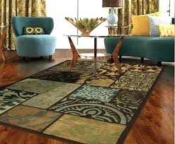light blue area rug x and brown rugs within plans