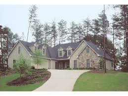 Hayward Traditional Home Plan D    House Plans and MoreCountry Style Home With Stone Accents And A Side Entry Garage