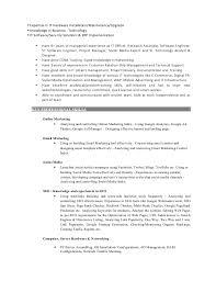 Sample Social Media Resume it knowledge resume Socbizco 82