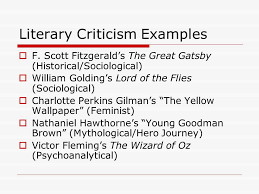 literary theories criticism ppt video online literary criticism examples