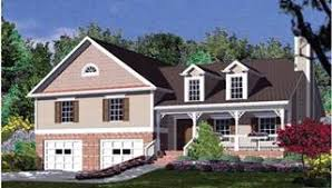 Split Level House Plans  amp  Home Designs   The House Designersimage of House Plan