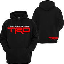TRD Toyota Hoodie GTI Dope Audi Toyota Racing Tacoma Tundra JDM ...