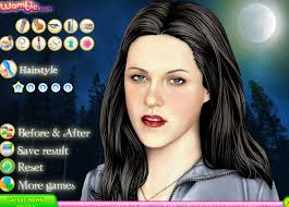 pics of kristen stewart makeup games free