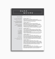Resume Template For Letter Of Recommendation New 15 Awesome Resume