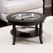 latest small coffee tables with shelf throughout black modern glass top small round coffee tables with