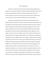 homeostasis study resources 6 pages bio homeostasis essay