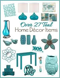 Teal Accent Home Decor Aqua or Teal Home Decor Accent Pieces 100 Boys and a Dog 2
