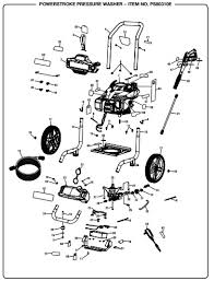 Powerstroke Ps80310e Power Washer Replacement Parts