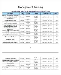new hire training plan template. Employee Training Plan Template Excel Employee Training Schedule