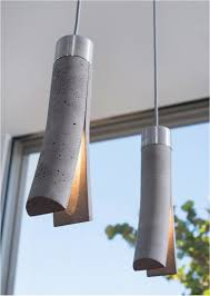 Diy Hanging Lamp Ideas Releasing The Light Concrete Lights By Dror