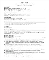 Sample Student Teacher Resume Images About Resumes On Elementary ...